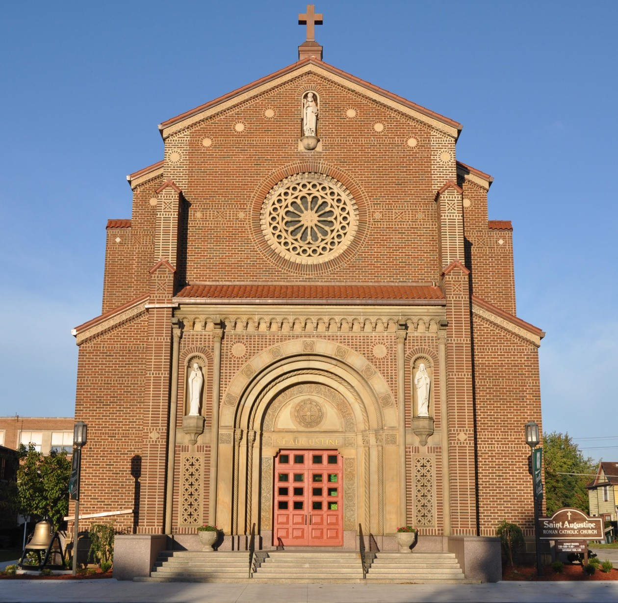 saint augustine church a roman catholic church in the diocese of